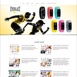 XTREMETIME.COM WEB LAYOUT DESIGN – Xtreme Time Inc. 2015