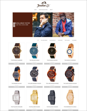 JONATHANCT.COM SHOP PAGE LAYOUT – Xtreme Time Inc. 2014