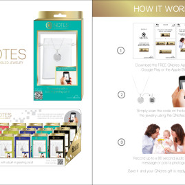 Q NOTES LOGO, PACKAGING, AND BRANDING CONCEPT DESIGN – NES Group 2015